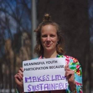 Marie My Warborg Larsen - Ungdomsdelegeret i DUF for ligestilling